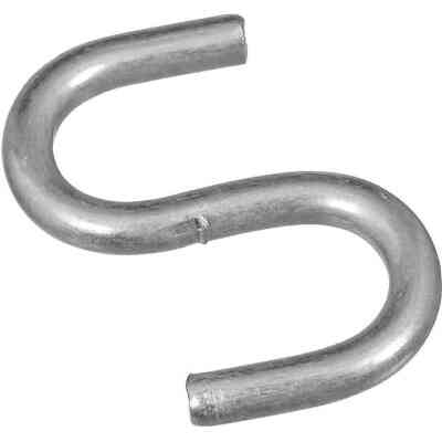 National 3/4 In. Zinc Heavy Open S Hook (8 Ct.)