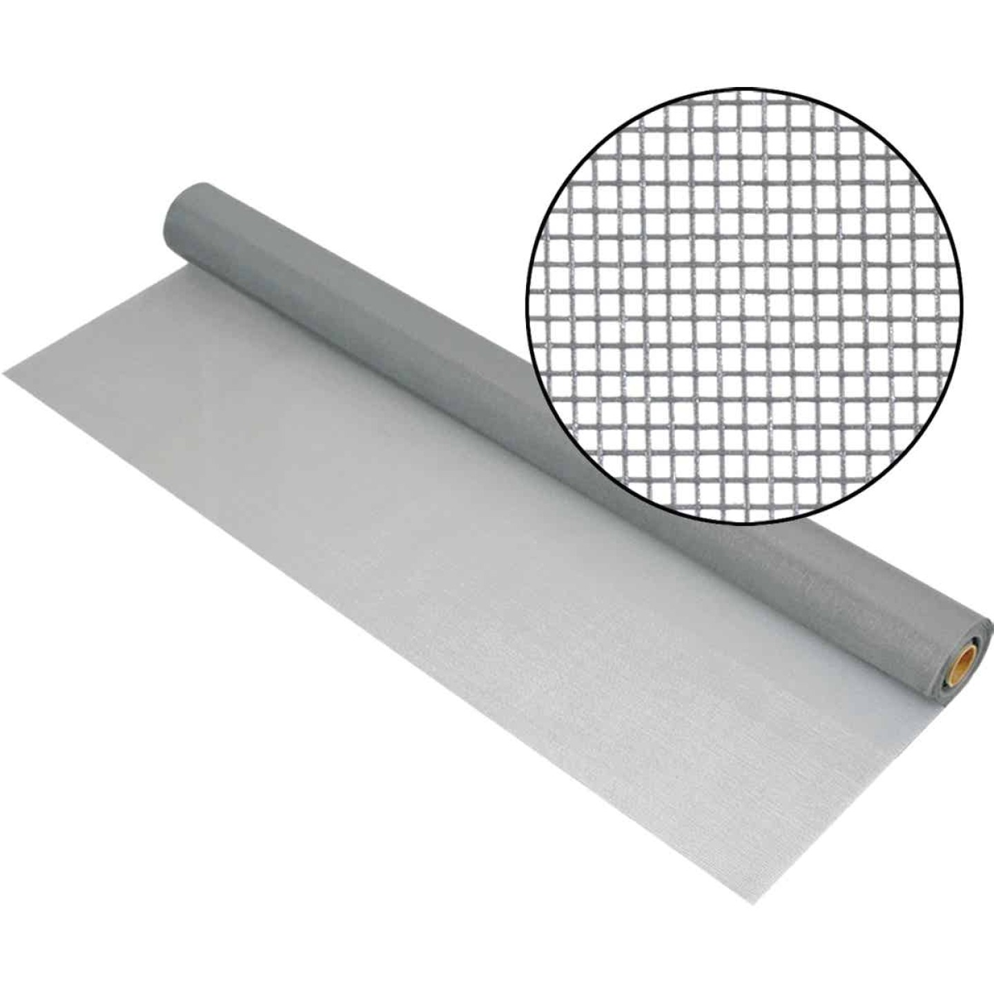 Phifer 36 In. x 100 Ft. Gray Fiberglass Mesh Screen Cloth Image 1