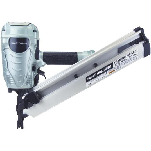 Metabo 30 Degree 3-1/2 In. Paper Tape Framing Nailer