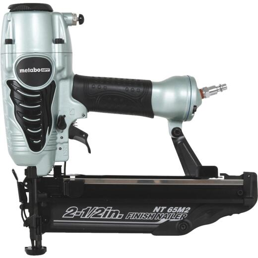 Metabo 16-Gauge 2-1/2 In. Straight Finish Nailer with Air Duster