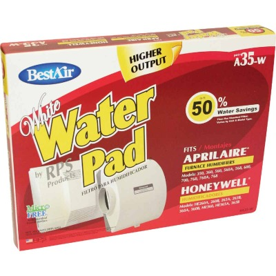 BestAir White WaterPad A35W Humidifier Wick Filter