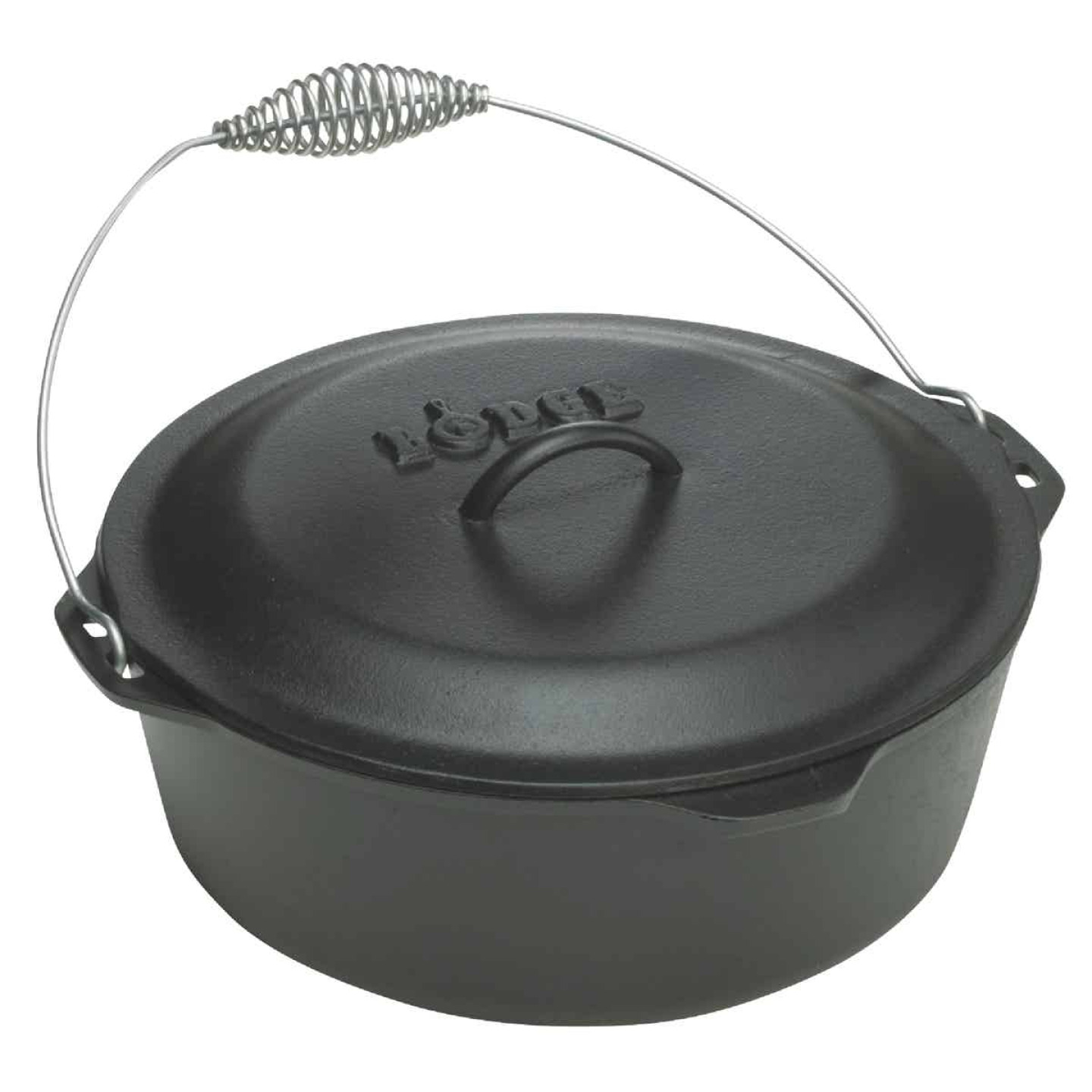 Lodge 9 Qt. Dutch Oven With Iron Cover Image 1