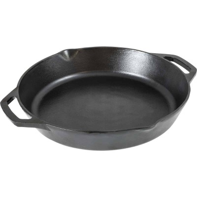 Lodge 12 In. Dual Handle Cast Iron Skillet