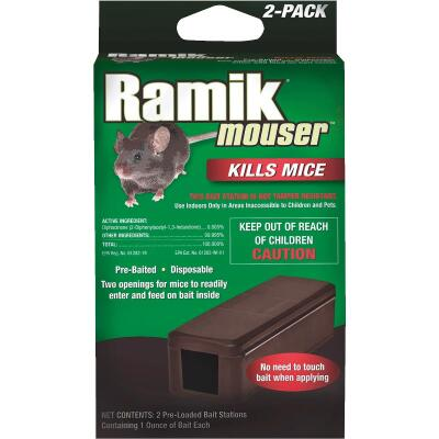 Ramik Mouser Disposable Mouse Bait Station (2-Pack)